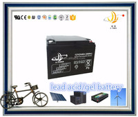 UPS GEL battery 12v 28ah lead acid solar battery 12v 24ah back up storage battery