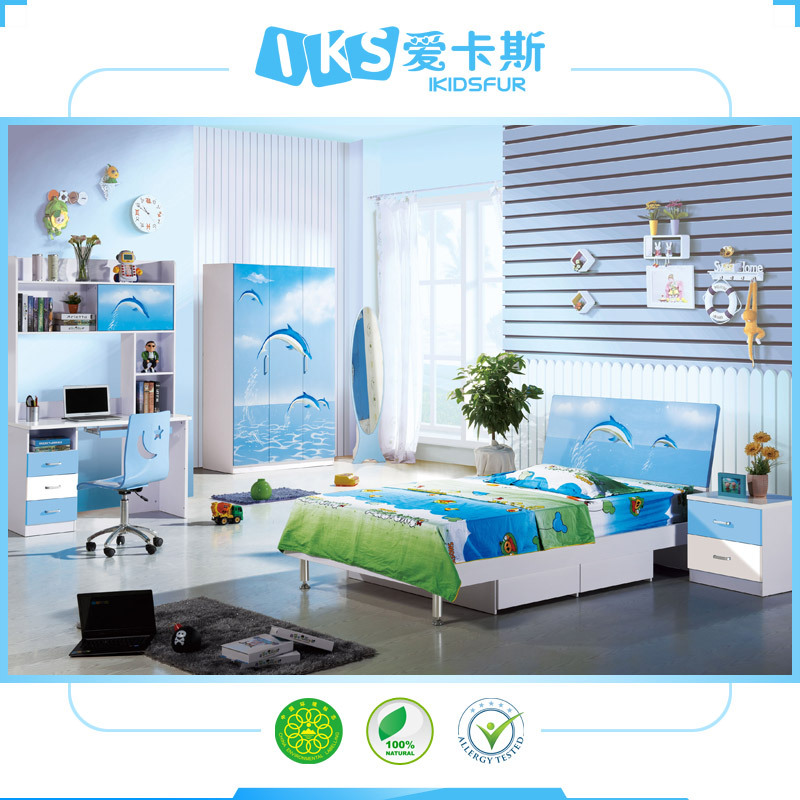 2015lovely cartoon kids bedroom furniture sets boy buy