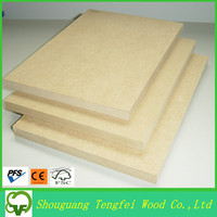 Good texture MDF wood board, raw MDF prices from Linyi
