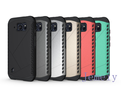 Shockproof For Samsung S6 Active 2 in1 Back Cover Case For Galaxy S6 Active Case Hybrid Slim Armor Back Holder S6 Active
