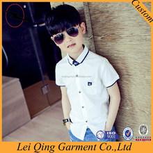 2015 newest designs cute short sleeve boys pant shirt