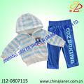 Nuevo estilo de venta al por mayor baratos 2-6year niños ropa niños conjunto
