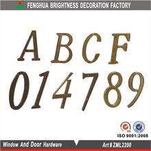 la puerta número de placas