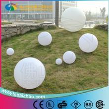 LED floating ball light / plastic LED Ball / waterproof pool LED Ball lights