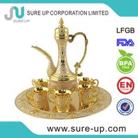 China wholesale market arabic tea jug coffee jug with sticking jewel(su-W2-01QB)