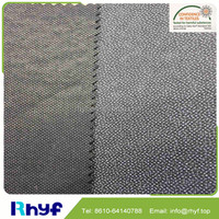 High quality thick nonwoven fusing interlining fabric with refined fiber