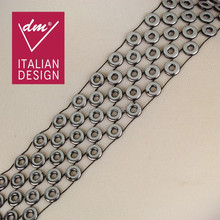 Wholesale fashion Italy design circle decorative metal trim
