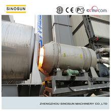 4000kg/h rotary dryer coal burner for sale