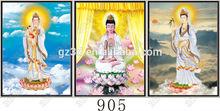 lihua dongchen 3d profundo efecto voltea la diosa guanyin <span class=keywords><strong>imagen</strong></span> para decoraciones para el hogar