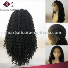 Super Quality Heat Resistant Synthetic Hair kinky twist braided lace wig