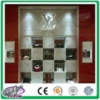 Accept custom store beautiful 3d mdf carved panel