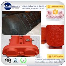 Factory sale powder coating Super matt black smooth electrostatic powder coating