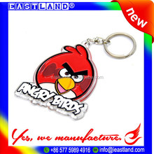 Cheap Promotion Custom Plastic Animal Keychain