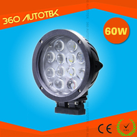 China manufacturer super bright auto round 4D 60W IP68 7inch c ree led work light ,off road 12v 24v 60w led work light
