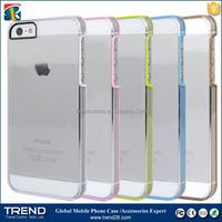 transparent double sided mobile phone case for iphone 5