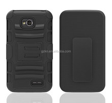 2015 New products super fashion splendid Dual Layer Tough hard defender Shockproof Armor Case Cover For LG L70