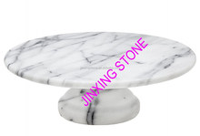 Unique Home Decor Cheap Marble Cake Footed Stand/Marble Cheese Stand/ Marble Fruit Stand