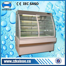 2 to 8 Celsius chilled display cabinet for cakes