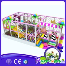 Small place soft indoor play equipment, kids liked plastic indoor playground