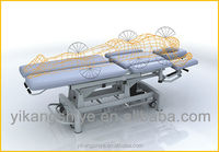 Eight sectioned treatment crouch / electric physiotherapy couch