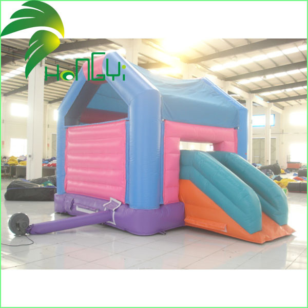 Small Indoor Inflatable Bouncer With Slides4.jpg