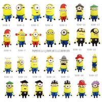 Novelty Minion PVC Material USB 2.0 Flash Pen Drive 8GB