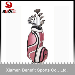 Whlesale high quality ladies pink golf bags