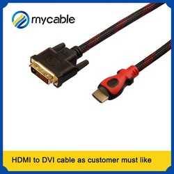 rca to dvi converter with magnetic rings hdmi cable wholesale