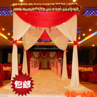 event party supplies Wedding Stage Backdrops Curtain For Wedding Party Decorations booths four corner pavilion drapes