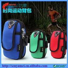 Wholesale Sport Outdoor Mobile Phone Bag Waterproof Pouch Zip Design