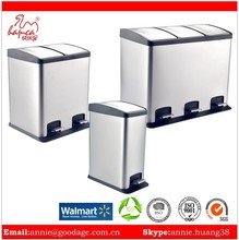 World best selling products Household Usage Rectangular Dustbins 1 part Manufacture With BSCI&Wal-Mart Factory Report