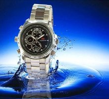 Pocket Wrist Watch SPY Camera Camcorder Video Recorder 8GB Mini DV HD 720P with IR Night Vision function , Waterproof