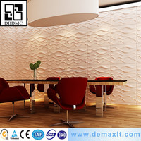demax attractive pop interior decoration 3d wall panel