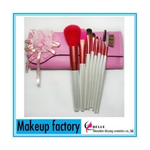 Lovely 8Pcs Makeup Brush Set with Big Flower Cosmetic