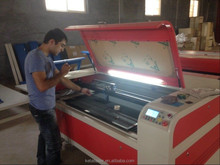 skype;wei.sara51 WD-1390 Laser Cutting Machine/Laser Engraving Machine for leather/paper/wood/plastic and non-metal