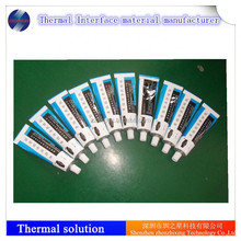 Silicone thermal conduction glue for bonding and coating