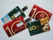 business card usb flash drive 4gb ,usb card printed double side 4gb ,credit card usb flash drive