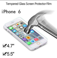 For iphone 6 Tempered Glass 9H Explosion-Proof Screen Protector , High Sensitive for iphone 6 Glass screen protector