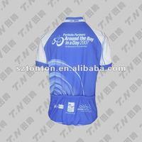 cheap custom make blue color cycling wear