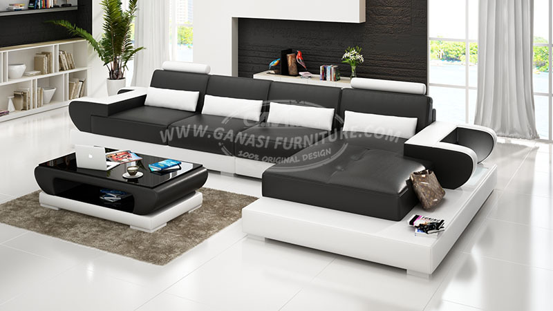 L em forma de sof projetos cor moda sof m veis de - Sofas arabes baratos ...