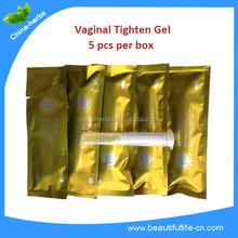 Natural female pleasure product tightening vaginal sex gel/vaginal stimulation gel