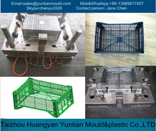 custom plastic injection crate molding service in taizhou huangyan with competitive price