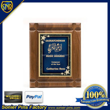 Wholesale Solid wooden plaque for souvenir gifts