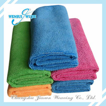 Multipurpose easy wipe kitchen cleaning cloth high absorption colorful microfiber towels