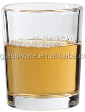 Wholesale stocked high quality mini whisky glass/80ml Certification FDA round water glass