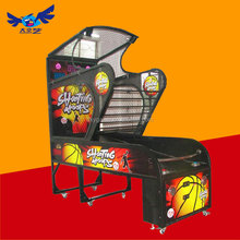 Indoor adults arcade shooting hoops basketball game machine/2014 hot sale street basketball game machine/Online basketball game