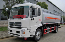 4x2 famous brand DongFeng 5 tons fuel delivery fuel tank truck for sale