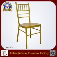 Metal Stacking wholesale Aluminum Chiavari Chair tiffany chair wedding chair