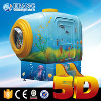 Verisimilar special effects,3D mini 5D mini movie theater equipment