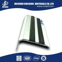 Modern safety rubber stair tread covers for step edge protection